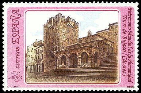Torre de Bujaco (Cáceres) - 1990