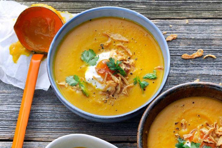 Pompoen en mango: een gouden combi! - Recept - Allerhande