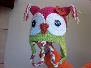 Owl hat: Hats Patterns, Hats Free, Crochet Hats, Hoot Hoot, Crochet Patterns, Free Patterns, Crochet Owl, Owl Hats, Crochet Knits