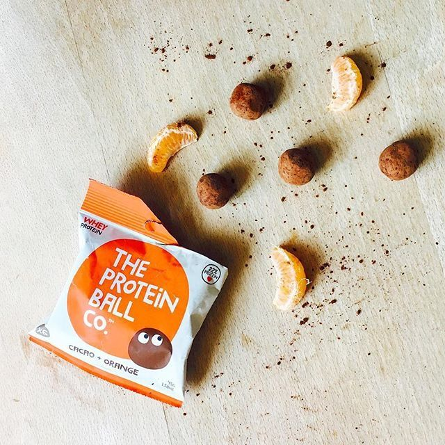 Our Cacao + Orange protein balls are bursting with an orange zing. It's like eating a chocolate and orange truffle!