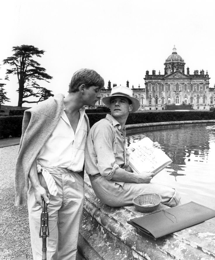 voxsartoria — Those Summer Doldrums. Anthony Andrews and Jeremy...
