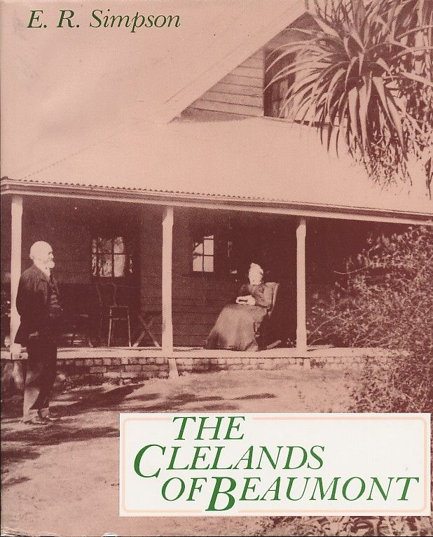 In 1852 John Fullerton Cleland arrived in South Australia with his young wife, Elizabeth, & 2 infant sons. This is the story of the Cleland family, as the daughter of Sir John Burton Cleland looks back on her family & its involvement with the Royal Adelaide & the Parkside Hospitals; with expeditions to the interior & gold mining; with the founding of SA's olive oil industry & early viticulture.