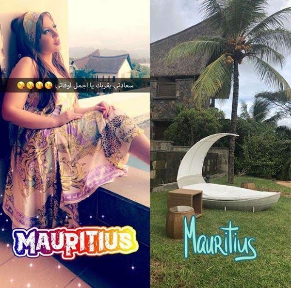 حليمة بولند تستجم في جزر موريشيوس وتثير الجدل بصورها في حمام السباحة صور بالبلدي Belbalady Mauritius Style My Style