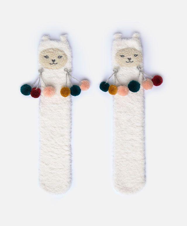 Oysho - Llama socks