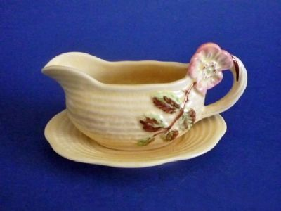 Shorter and Son 'Wild Rose' Sauce Boat c1939