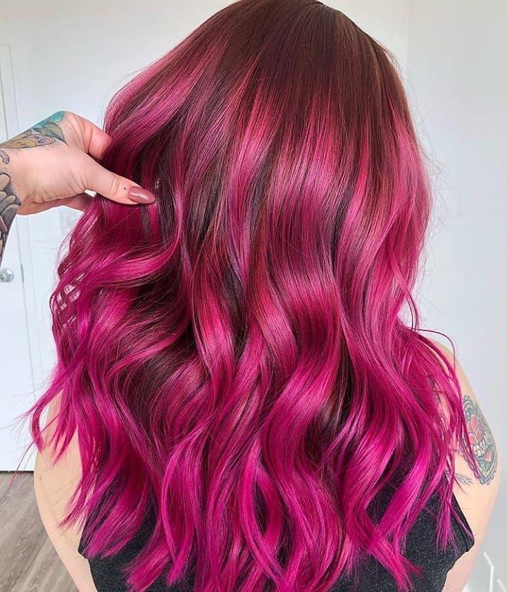 Publication Instagram De Cabelos Coloridos Le 28 Mar 2019 A 2 H 50 M Utc In 2020 Hair Color Unique Hair Styles Hair