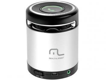 Caixa de Som Multilaser SP155 10W - com Bluetooth e Conexão de Auxiliar