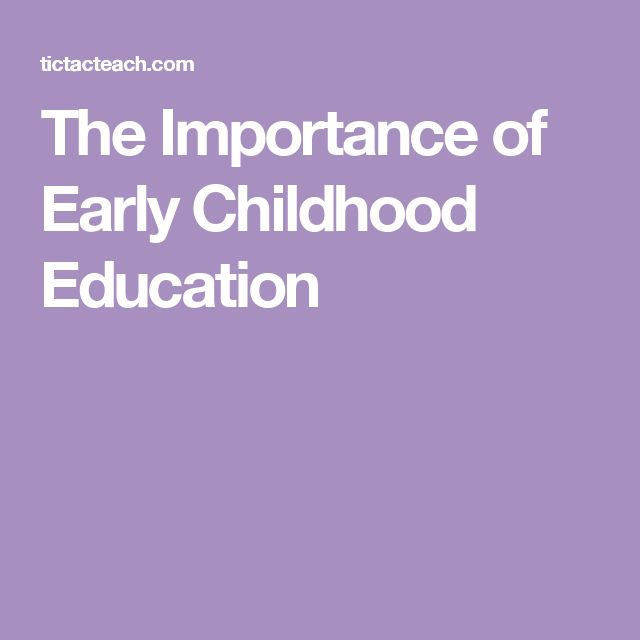 importance of early childhood education Support access to high-quality early childhood education programs and opportunities and resources for  why is play important 10 things every parent should know .