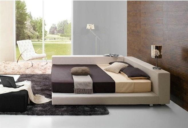 deion contemporary bed frame 845 home decor furniture pinterest bed frames contemporary and bedrooms - Modern Bed Frames