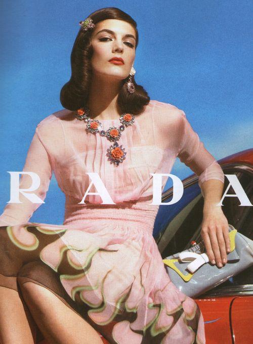 prada: Fashion Boutique, Fashion Prada, Prada 2012, Fashion Style, Dress Fashion, Vintage Diyhair, Hair Style