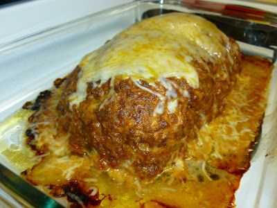 Taco Meatloaf...it looks sooo yummy