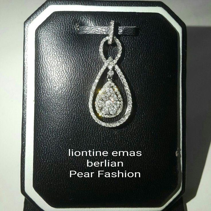 New Arrival🗼. Liontine Emas Berlian Pear Fashion💍.   🏪Toko Perhiasan Emas Berlian-Ammad 📲+6282113309088/5C50359F Cp.Antrika👩.  https://m.facebook.com/home.php #investasi#diomond#gold#beauty#fashion#elegant#musthave#tokoperhiasanemasberlian
