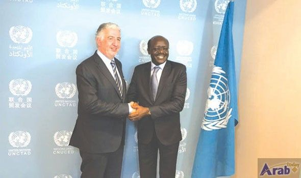 ITFC CEO holds meeting with UNCTAD secretary-general