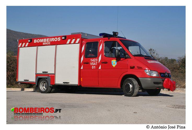 Bombeiros Voluntários de Minde - 1423 VSAT 01 - Mercedes