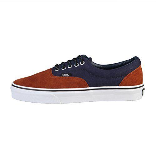 Vans U ERA Scarpe Moda Sneakers Pelle Scamosciata Blu Mar…