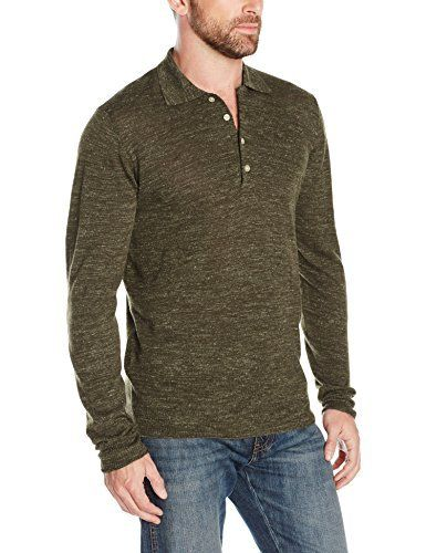 """Product review for 7 For All Mankind Men's Linen-Wool Long Sleeve Polo Sweater.  This long-sleeve polo sweater is an essential layering piece this season and features a four button placket closure.       Famous Words of Inspiration...""""The secret of success is learning how to use pain and pleasure instead of having pain and pleasure use you. If you do..."""