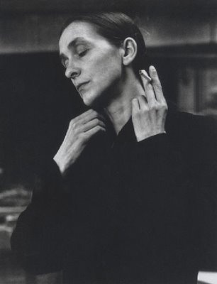 "Pina Bausch, 1990s  ""Dance, dance .... otherwise we are lost."""