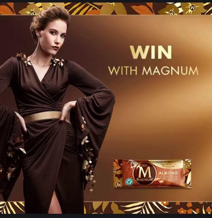 Nirelda Andreka in the new Magnum advertisement in March 2016