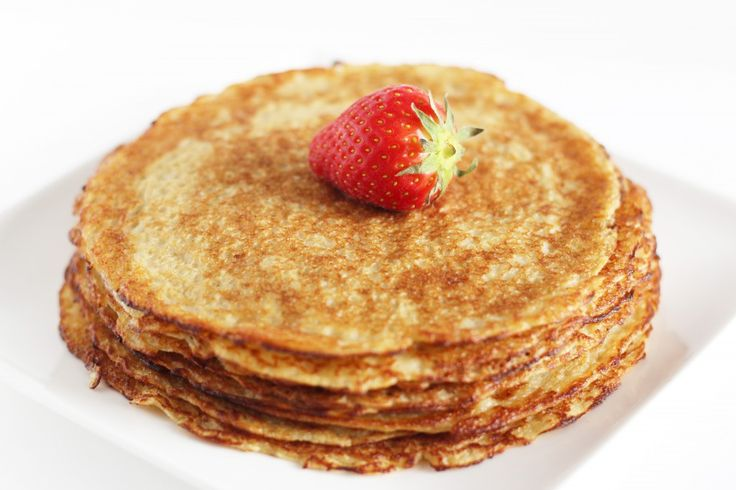 Gezonde pannenkoeken   www.adaywithtia.com #oatmeal #pancakes #banana