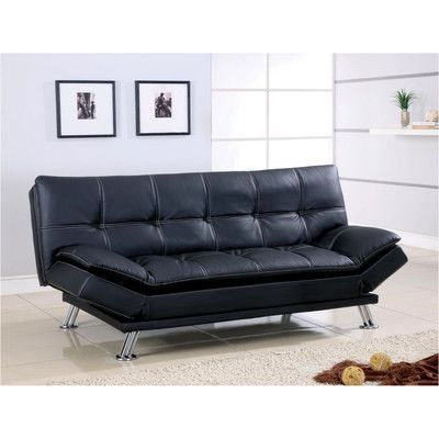 Wildon Home  Sleeper Sofa Upholstery: Brown