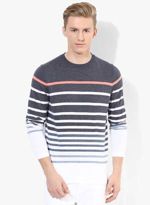 Round Neck Sweaters Online - Buy Men Round Neck Sweaters Online in India | Jabong.com