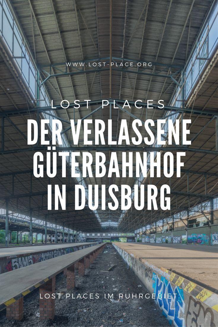 Der verlassene Güterbahnhof in Duisburg  Ein Lost Place wie kaum ein anderer: Der verlassene Bahnhof von Duisburg, an dem nicht nur damals Güterwaggons abgefertigt und losgeschickt wurden, sondern wo auch eine Tragödie passierte...
