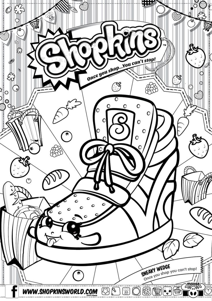 34 best COOKIES coloring pages images on Pinterest Coloring - best of shopkins coloring pages snow crush