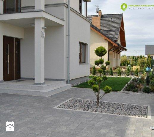 Nowoczesny, minimalistyczny ogród. - Ogród, styl minimalistyczny - zdjęcie od PracowniaDabrowska