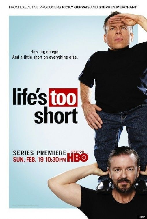 Created by Warwick Davis, Ricky Gervais, Stephen Merchant.  With Warwick Davis, Ricky Gervais, Stephen Merchant, Rosamund Hanson. The show centers on Warwick Davis in his day-to-day life, complete with the frustrations he faces.