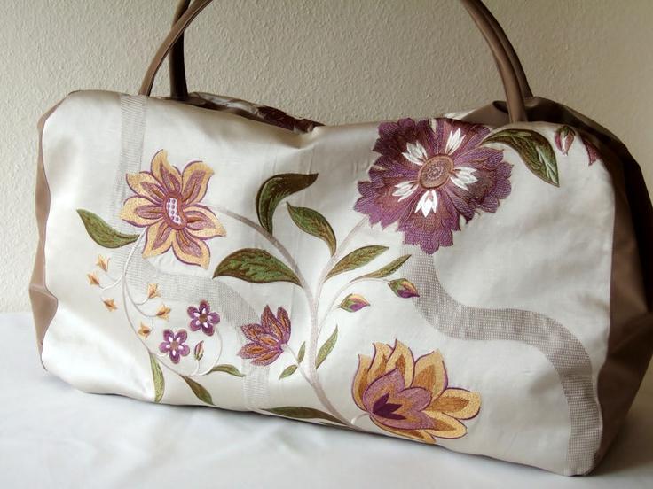 Flora Weekender - leichte Wochenend- oder Freizeittasche