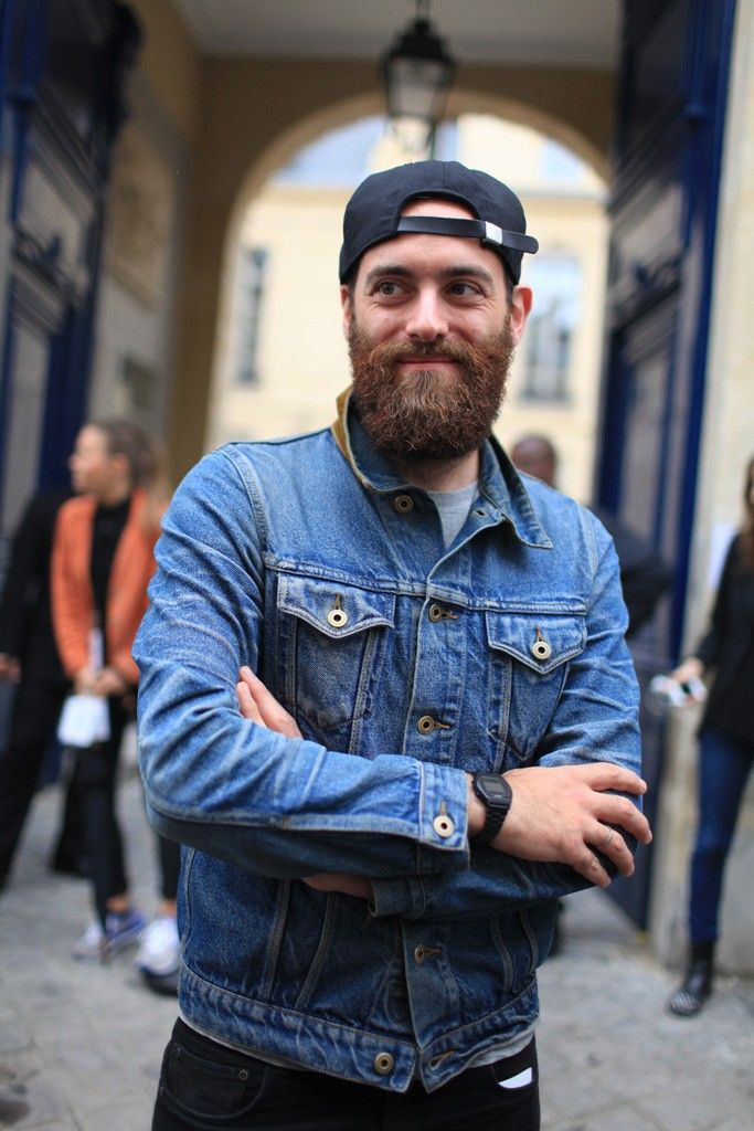 Mens Denim Jacket In Worn Black in 2019 | Clothing | Denim ...