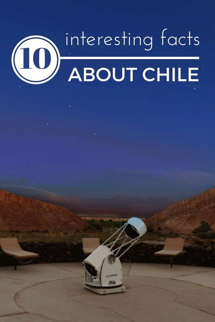 Read our 10 interesting facts about Chile as we travelled from the top San Pedro, all the way to the tip in Patagonia.