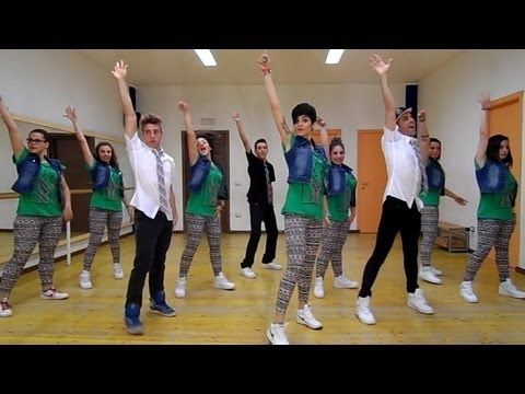 "▶ Joey&Rina ""Hula Hoop "" | Impara i Passi | Balli di Gruppo 2014 Line Dance - YouTube"