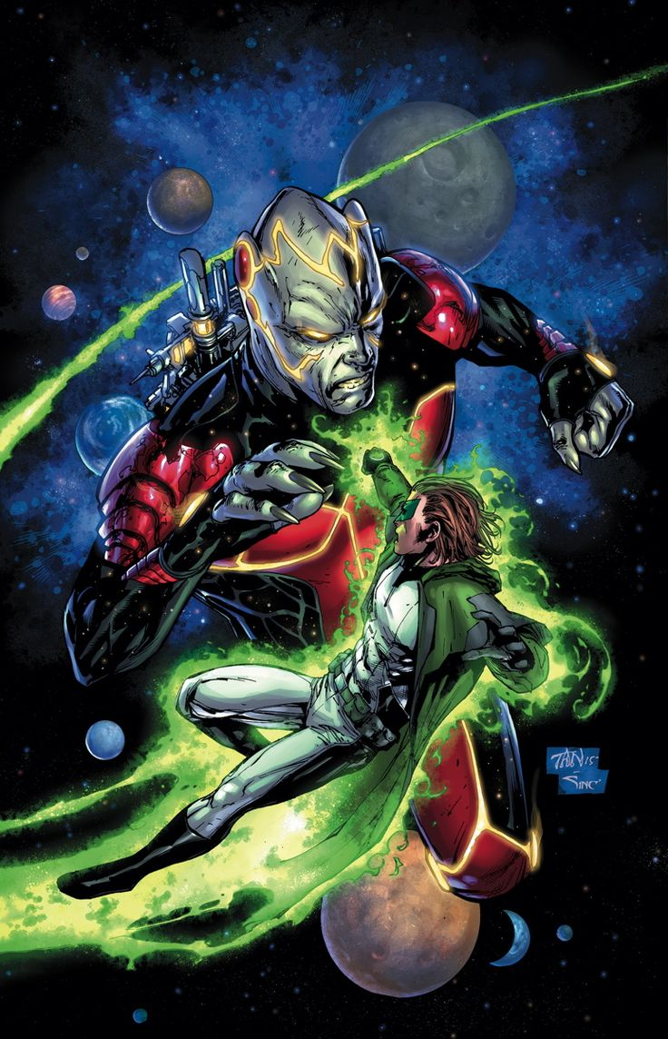 GREEN LANTERN #43 Written by ROBERT VENDITTI Art by BILLY TAN and MARK IRWIN Cover by BILLY TAN