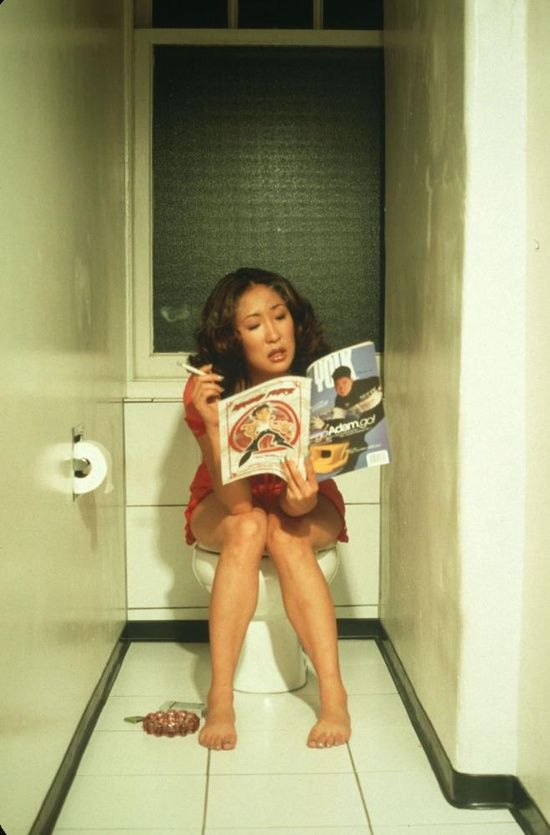 I love Sandra Oh. What a great actress and so intelligent, funny and genuine as a person.