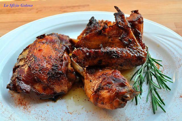 Lo Sfizio Goloso: Pollo alla paprika