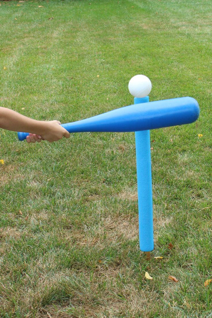 How to Make A Batting Tee from Pool Noodles