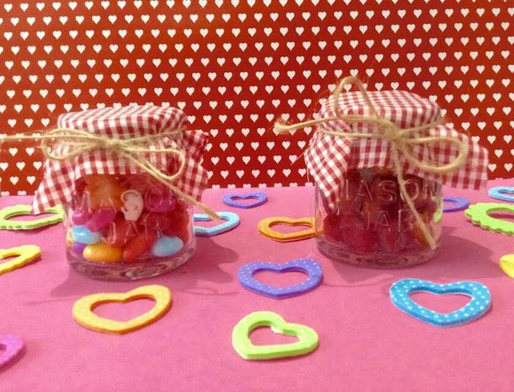 Tequileros Mason jar con dulces o gomitas de chile