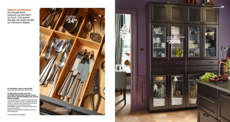 Laxarby cabinets, IKEA Catalogue 2016