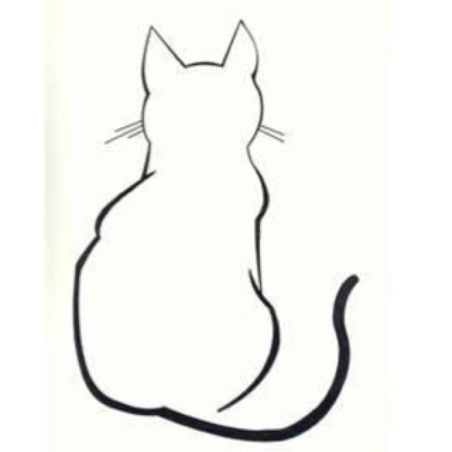 Sitting Cat Sketch