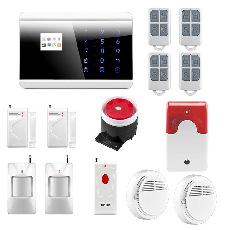 138.38$  Watch here - http://ali491.shopchina.info/go.php?t=32424156872 - Wireless Zone GSM PSTN Home Alarm System SMS Arm/Disarm Door Contct Fire Alarm Sensors Emergency Panci Alert 8218G 138.38$ #buychinaproducts