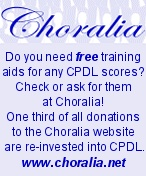 Founded in December 1998, CPDL was ported to ChoralWiki in August 2005.  Here you will find free choral/vocal scores, texts, translations, and other useful information.