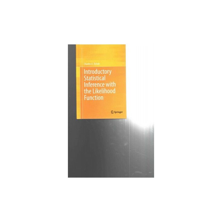 Introductory Statistical Inference With the Likelihood Function (Hardcover)