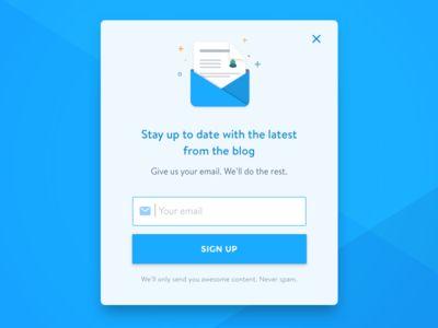 The 25+ best Newsletter signup ideas on Pinterest Login form - e mail sign up sheet