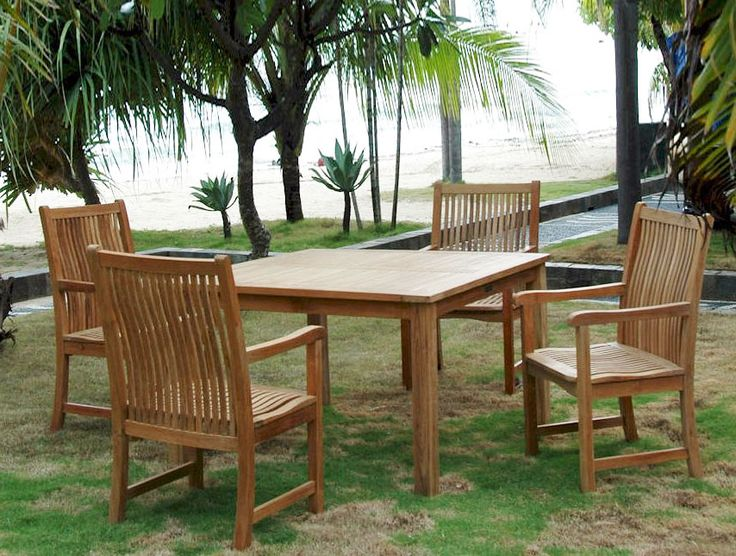 Teak Outdoor Furniture Care: Some Tips To Consider Part 86