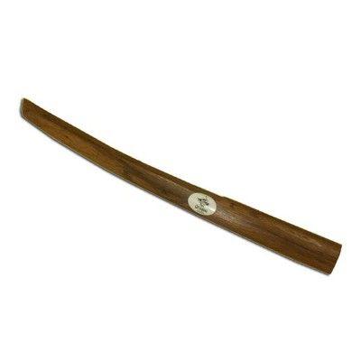 Dragon Shoto Red Oak används som en replika för Wakizashi och levereras komplett med tsuba och gummiring.