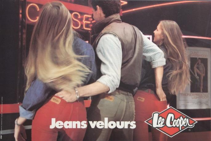 Lee Cooper 1990's Advertisement