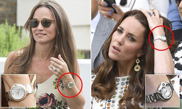 Pippa shows off £14,500 Cartier watch... Kate's got the cheaper model! It is thought to have been given to her by her fiancé, whose firm Eden Rock Capital Management looks after £1.1billion worth of investments, enabling Mr Matthews to buy a £17million London mansion and a £3million private jet by the age of 40.