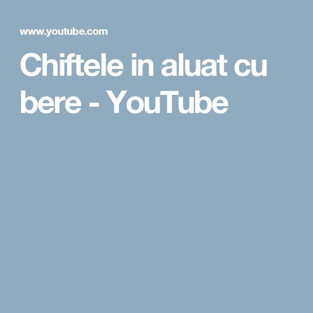 Chiftele in aluat cu bere - YouTube