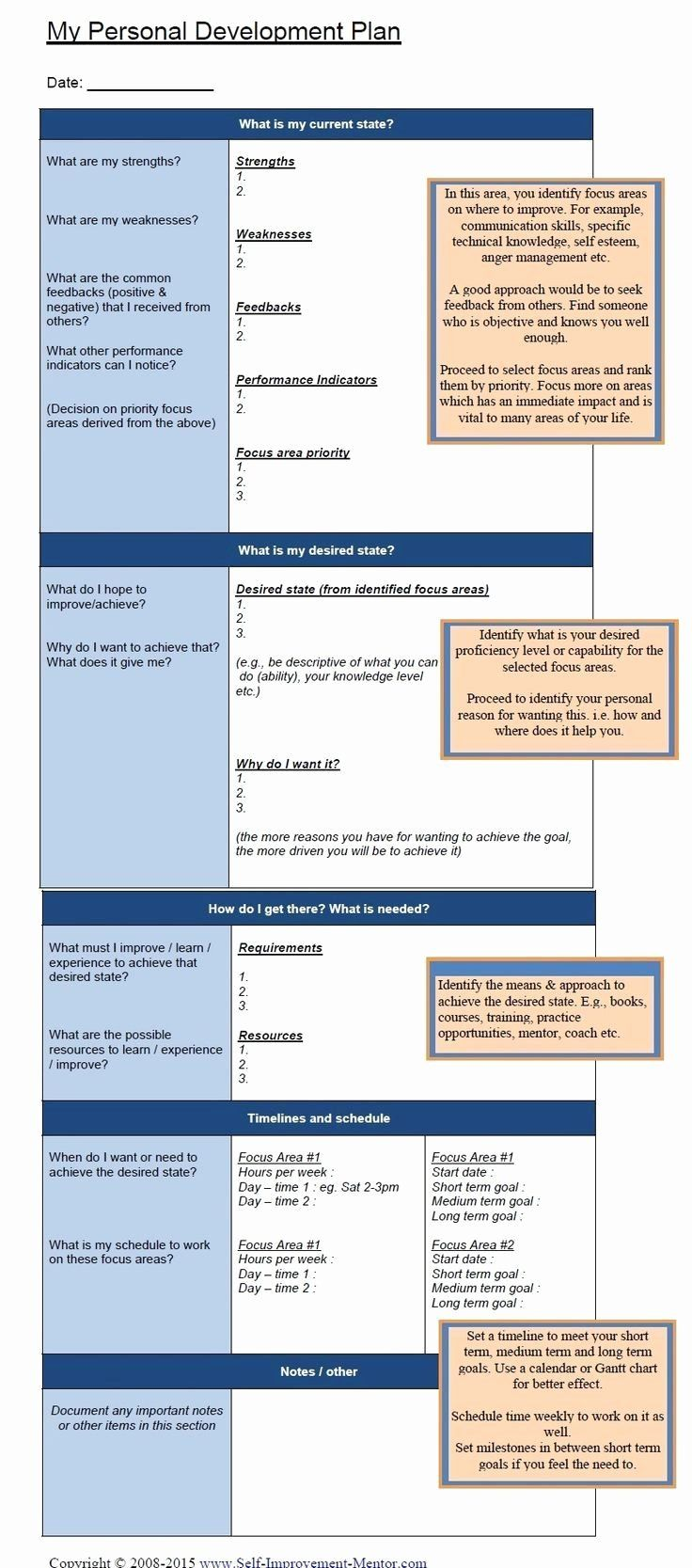 30 Personal Strategic Plan Template in 2022 Personal